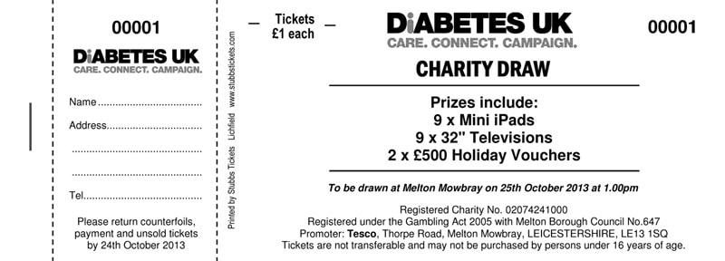 raffle ticket drawing