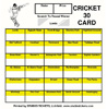 Cricket Card